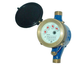 China Turbine Thread Port Single Jet Meter Corrosion Resistance Class B supplier