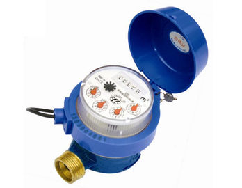 China M - BUS AMR Water Meter R80 Value Remote Reading With Pulse Emitter supplier