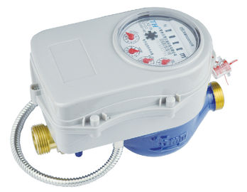 China Controll Valve AMR Wireless Water Meter Remote Reading Multi Jet With Dry Dial supplier