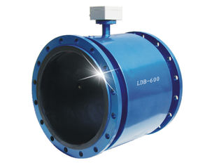 China Signal Output IP68 Electromagnetic Flow Meter Waste Water Discharge Moinitor For Plant supplier