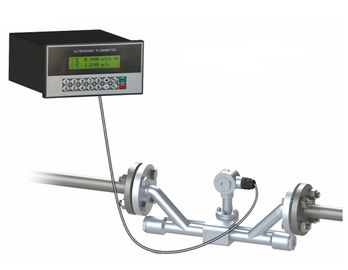 China Panel Mount Ultrasonic Flow Meter ISO9001 For Water Treatment Plant supplier