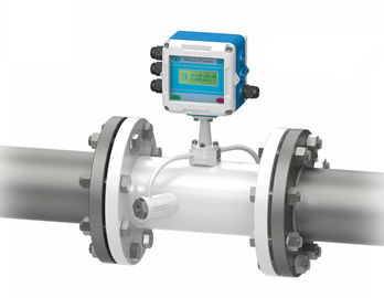 China Transit Time Heat Flow Meter , Fixed Inline Volumetric Digital Flow Meter supplier