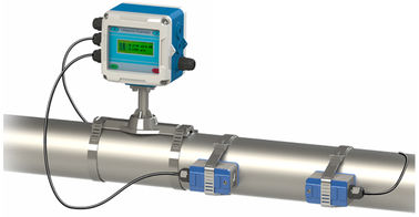China Residential Inline Water Flow Meter LCD Irrigation Mass Flow Measurement supplier