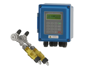 China Transit Time Ultrasonic Flow Meter DN50 - 700 For Waste Water Treatment supplier