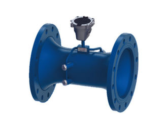 China Transit Time Type Ultrasonic Water Meter Agricultural With Built In Controller supplier