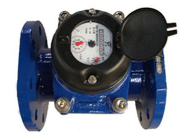 China Flange Port Industrial Water Meter Positive Displacement DN50 Dry Dial supplier