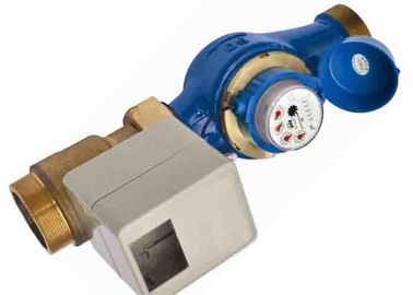 China RF Type Ball Valve Prepaid Water Meters DN50 ISO 4064 IC Card With Multi Jet supplier