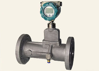 China Alloy 1.6Mpa High Pressure Air Flow Meter Anti Interference For Natural Gas LPG supplier