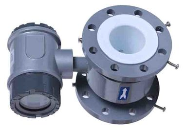 China DN600 PTFE Lined Electromagnetic Flow Meter 24 Inch Stainless Steel Pipe supplier