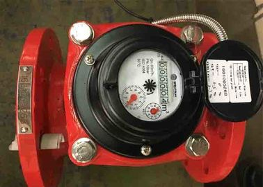 China 50mm Hot Water Woltman Flow Meter DN100 Class B Low Pressure Loss supplier