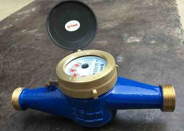China Residential Cold Water Multi Jet Meter Iso4064 Class B With Brass House supplier