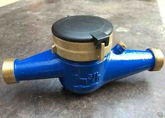 China Magnetic Drive Residential Water Meter Super Dry Brass Housing Size DN40 supplier
