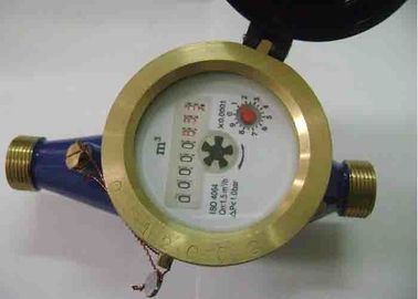 China Impeller Type Single Jet Pulsed Water Meter Class B With Pulse Output supplier