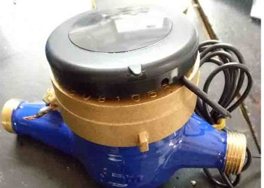 China Residential Multi Jet Water Meter With Pulse Emitter Dn15 Thread Dry Dial R1000 supplier