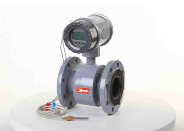 China Sewage Flow Metering Magnetic Water Meter Hard Rubber Liner With Electrode 316l supplier