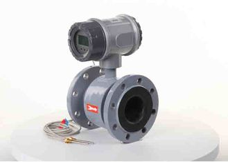 China Electromagnetic Wastewater Flow Meter Ip68 Protection For Flow And Heat Measurement supplier