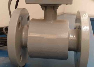 China Ptfe Liner Lectromagnetic Water Flow Meter , Robust Structure Thermal Flow Meter supplier