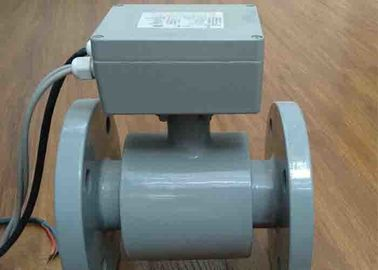 China 2 - 48 Inch Turbine Flow Meter Measurement 100 C For Slurry / Dirty Water supplier