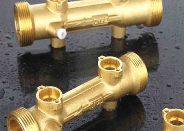 China Static water meter's sensor body for ultrasonic water meter, Brass, DN15-DN40, PN16 supplier