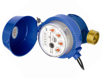 China PN16 Residential Water Meter With AMR Reading / House Water Meter Built In Valve distributor