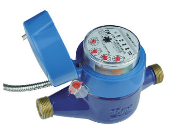China GPRS Mbus DN15mm AMR Water Meter , Flange Port Woltman Water Meter distributor