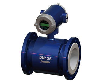 China 316L Electrode DN600 Volumetric Water Meter , PTFE Lined Wastewater Flow Meter factory