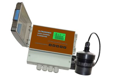 China Open Channel Ultrasonic Flow Meter IP66 factory