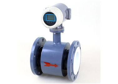 China 85 - 265VAC Electromagnetic Flow Meter ISO9001  Pt100 Compact Converter factory