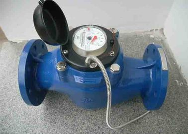 China AMR smart water metering by multi jet water meter and wired Mbus transmit DN15-DN300 distributor
