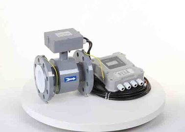China Lithium Battery Magnetic Water Meter / Electromagnetic Field Meter For Water Utility distributor