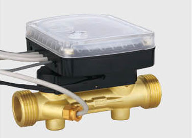 China Ultrasonic heat water meter's sensor body, brass flow section, Dia: DN15 - DN40 distributor