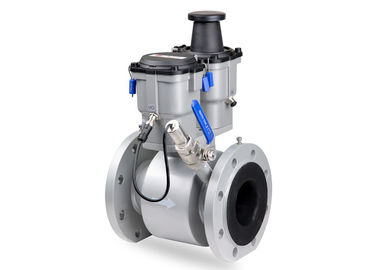 China PN16 Industrial Electromagnetic Flow Meter For Commercial Buildings / HVAC distributor