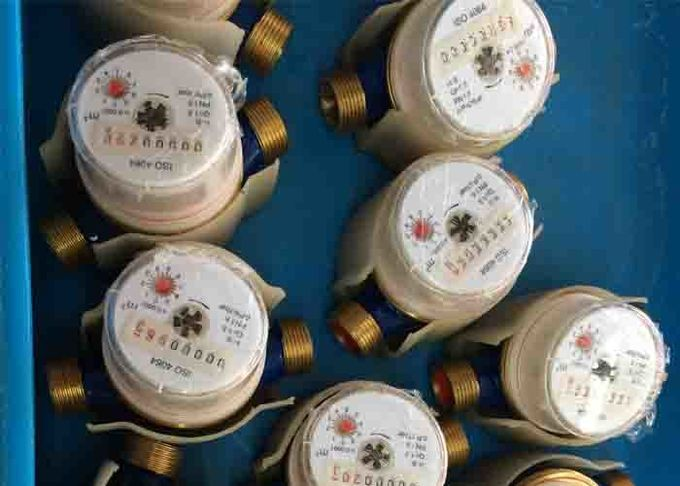 DN15 - DN40 Multi Jet Residential Water Meter For Hot Or Cold Water Meter